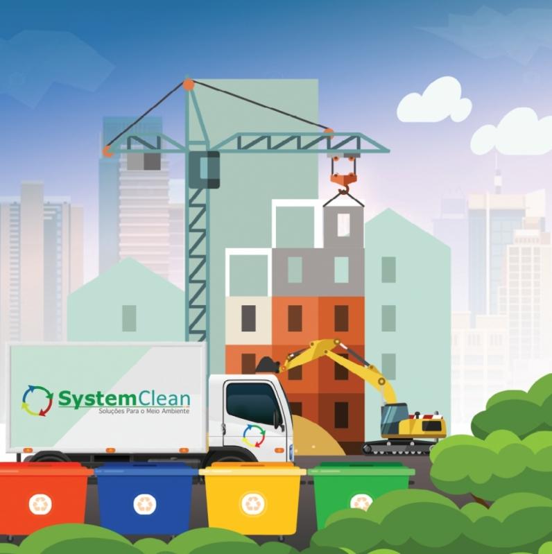Empresa de Coleta Seletiva na Construção Civil Jardins - Coleta Seletiva para Empresas de Construção