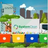 coleta de resíduos sólidos de obra