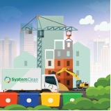 coleta seletiva de resíduos sólidos na construção civil Praça da Arvore