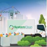 empresa de coleta de resíduos sólidos de construção civil Brooklin